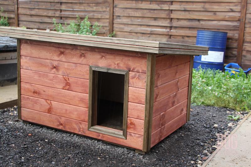 Как утеплить будку для собаки на зиму